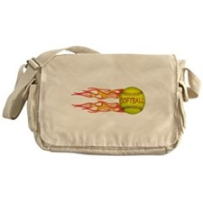 Side fire soft Messenger Bag