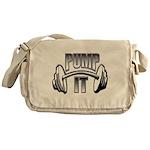 Pump it Messenger Bag