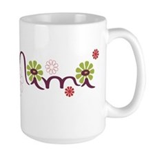 Mimi With Flowers Mug