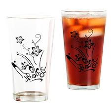 Happy Eid flower Drinking Glass