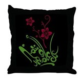 Eid flower 01 Throw Pillow
