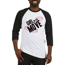 Girl on the Move Baseball Jersey