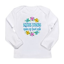 Square Dancing Smiles Long Sleeve Infant T-Shirt