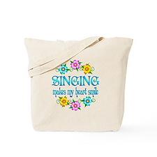 Singing Smiles Tote Bag