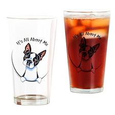 Boston Terrier IAAM Drinking Glass