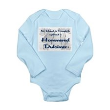 Hammered Dulcimer Long Sleeve Infant Bodysuit