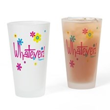 Unique Whatever Drinking Glass