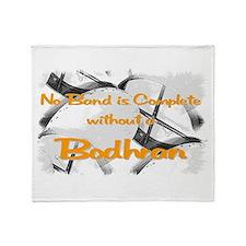 Bodhran Throw Blanket