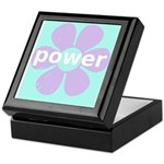 Flower Power Keepsake Box