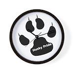 Husky Pride Wall Clock