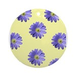 Crazy Daisy Ornament (Round)
