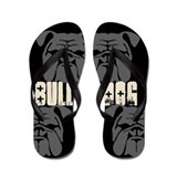 BULLIES (black/grey) Flip Flops