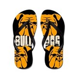 BULLIES (black/orange) Flip Flops