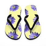 Crazy Daisy Flip Flops