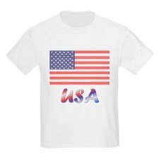USA (flag) Kids T-Shirt