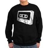 Black & White Cassette Tape Sweatshirt