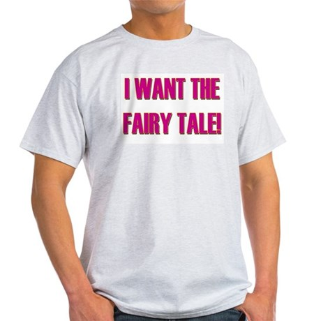 Fairy Tale - Pretty Woman Ash Grey T-Shirt