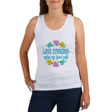Line Dancing Smiles Women's Tank Top