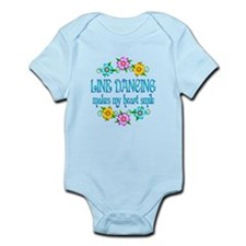 Line Dancing Smiles Infant Bodysuit