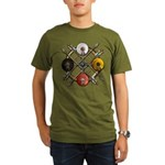 Native Medicine Wheel Mandala Organic Men's T-Shir