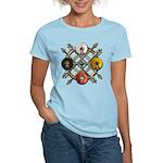 Native Medicine Wheel Mandala Women's Light T-Shir