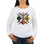 Native Medicine Wheel Mandala Women's Long Sleeve
