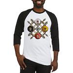 Native Medicine Wheel Mandala Baseball Jersey