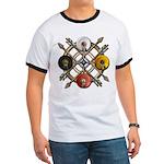 Native Medicine Wheel Mandala Ringer T