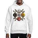 Native Medicine Wheel Mandala Hooded Sweatshirt