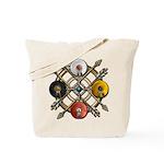Native Medicine Wheel Mandala Tote Bag