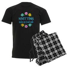 Knitting Smiles pajamas