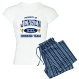 Jensen Norwegian Drinking Team pajamas