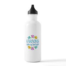 Karaoke Smiles Water Bottle