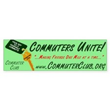 Commuter Club Bumper Bumper Sticker