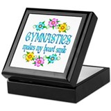 Gymnastics Smiles Keepsake Box
