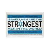 Israeli Men are the Strongest Rectangle Magnet