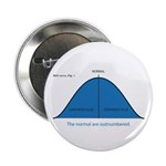 "Normal bell curve 2.25"" Button"