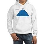 Normal bell curve Hooded Sweatshirt