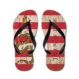 Sons of Liberty Join or Die Flip Flops