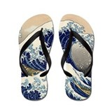 Great Wave Flip Flops