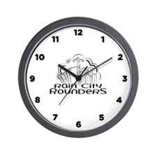 Rain City Rounders - Wall Clock