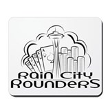 Rain City Rounders - Mousepad