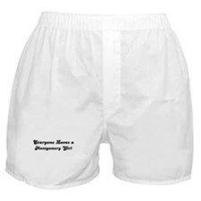 Loves Montgomery Girl Boxer Shorts