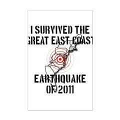 The Great Earthquake of 2011 Posters