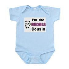 I'm the Middle Cousin Infant Bodysuit