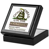 Don't Tread on Me - Keepsake Box