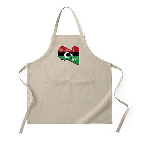 Freedom for Libya 2011 Apron