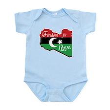 Freedom for Libya 2011 Infant Bodysuit