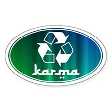 Recycle KARMA Decal