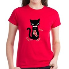 Yummy - Red Women's Dark T-Shirt